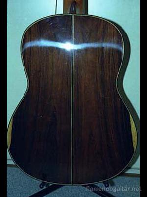 パコ・デ・ルシアギター 2001 裏