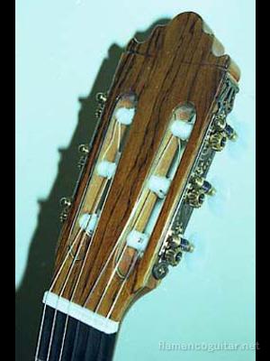 パコ・デ・ルシアギター 2001 ヘッド